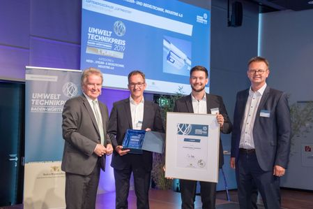 LUFTMEISTER IS WINNER OF THE ENVIRONMENTAL TECHNOLOGY AWARD BADEN-WÜRTTEMBERG.